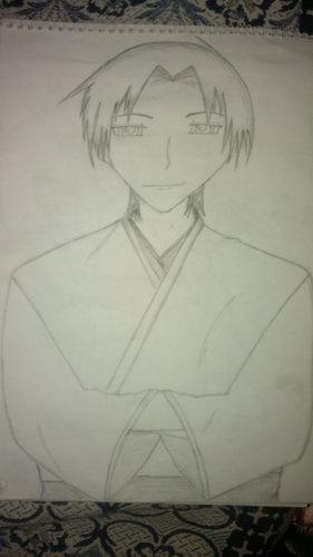 a pic of shigure i drew oleh myself...i hope u like it
