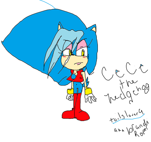 cece the hedgehog