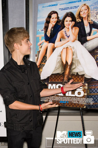 justin at monte carlo movie