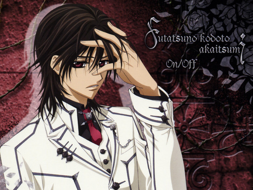 Vampire Knight wolpeyper with anime called kaname