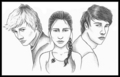katniss,peeta and gale - katniss-peeta-and-gale photo