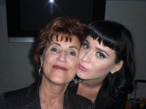 katy & her mom