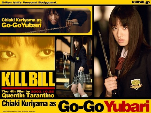 Kill Bill wolpeyper with anime called kill Bill