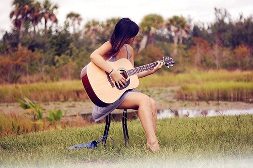 Photography Fan wallpaper containing a guitarist called love