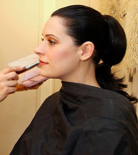 Paget Brewster wallpaper entitled makeup