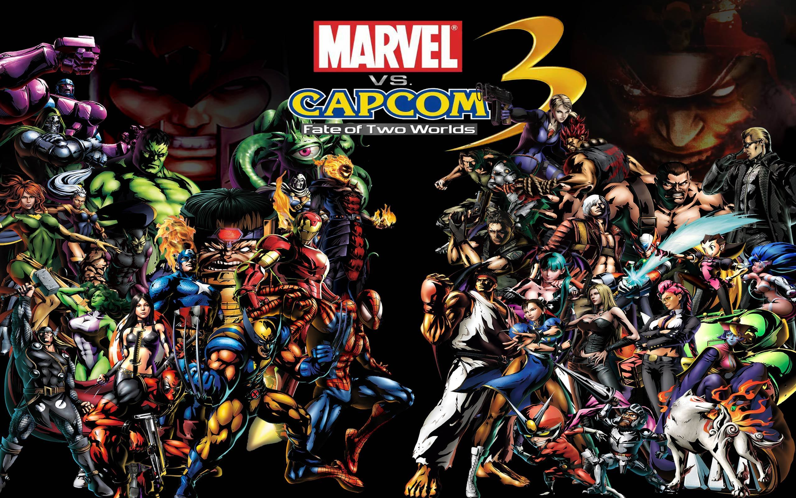 Video games marvel vs capcom