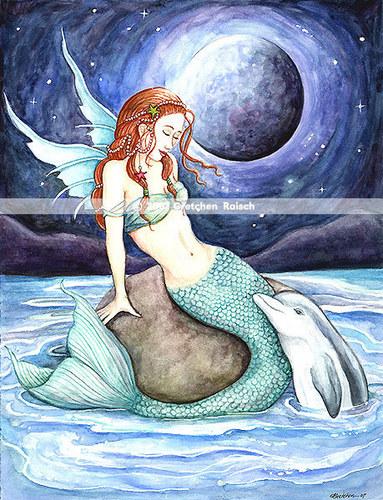 mermaids at play