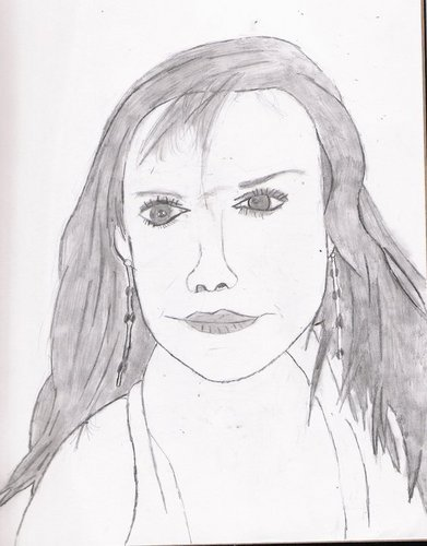 my sketch of Bobbie Eakes
