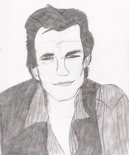 my sketch of Johnny Whitworth