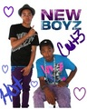 new boyf so cute - new-boyz fan art