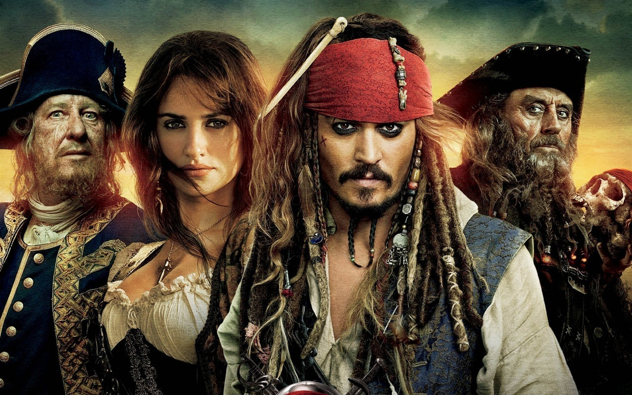 Pirates Of The Caribbean 1,2,3 And 4 Images Pir8s Rule HD