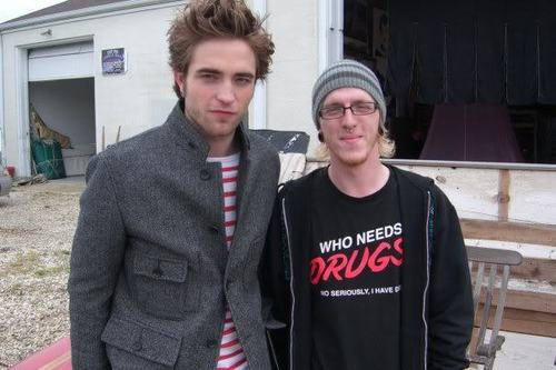 rob with ファン