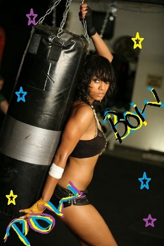 Keri Hilson wallpaper entitled wild boxer