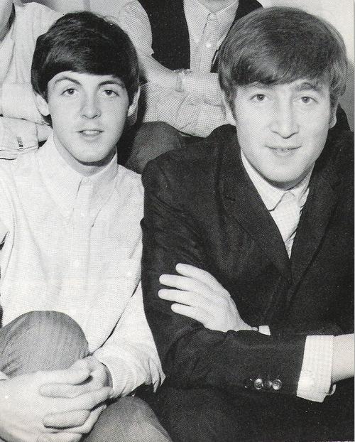 Lennon/McCartney images young Paul and John wallpaper and ...  Lennon/McCartne...
