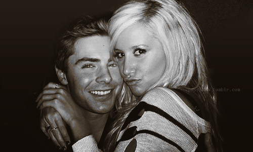 Zac Efron & Ashley Tisdale wallpaper possibly with a portrait entitled zashley