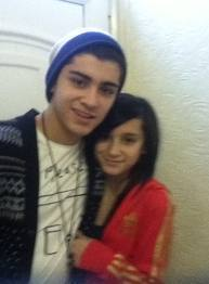 zayn and his sister waliyha