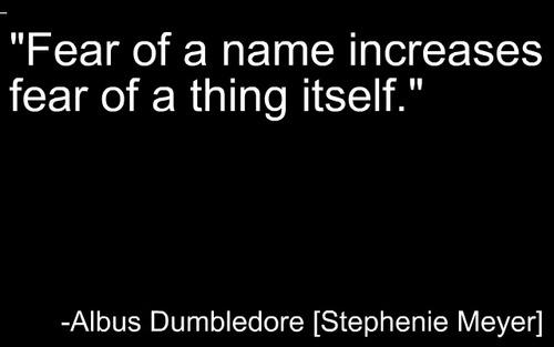 -Albus Dumbledore [Stephenie Meyer]