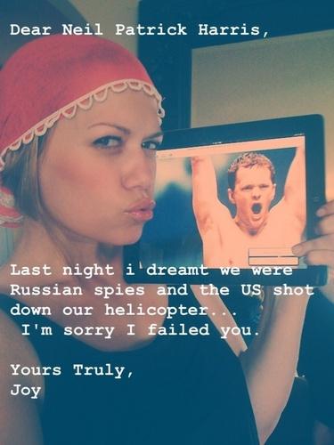 """""""Dear Neil Patrick Harris"""""""