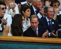 Kate Middleton and Prince William at Wimbledon (June 27).