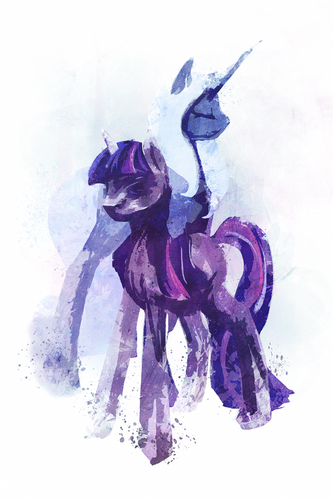 my little টাট্টু friendship is magic twilight sparke দেওয়ালপত্র with a red cabbage titled .:Twilight Sparkle:.