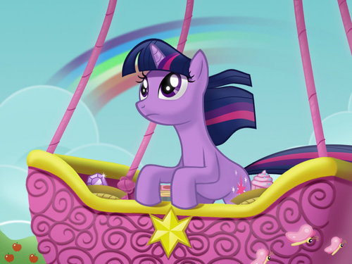 my little টাট্টু friendship is magic twilight sparke দেওয়ালপত্র called .:Twilight Sparkle:.