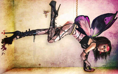 {gothic fairy}