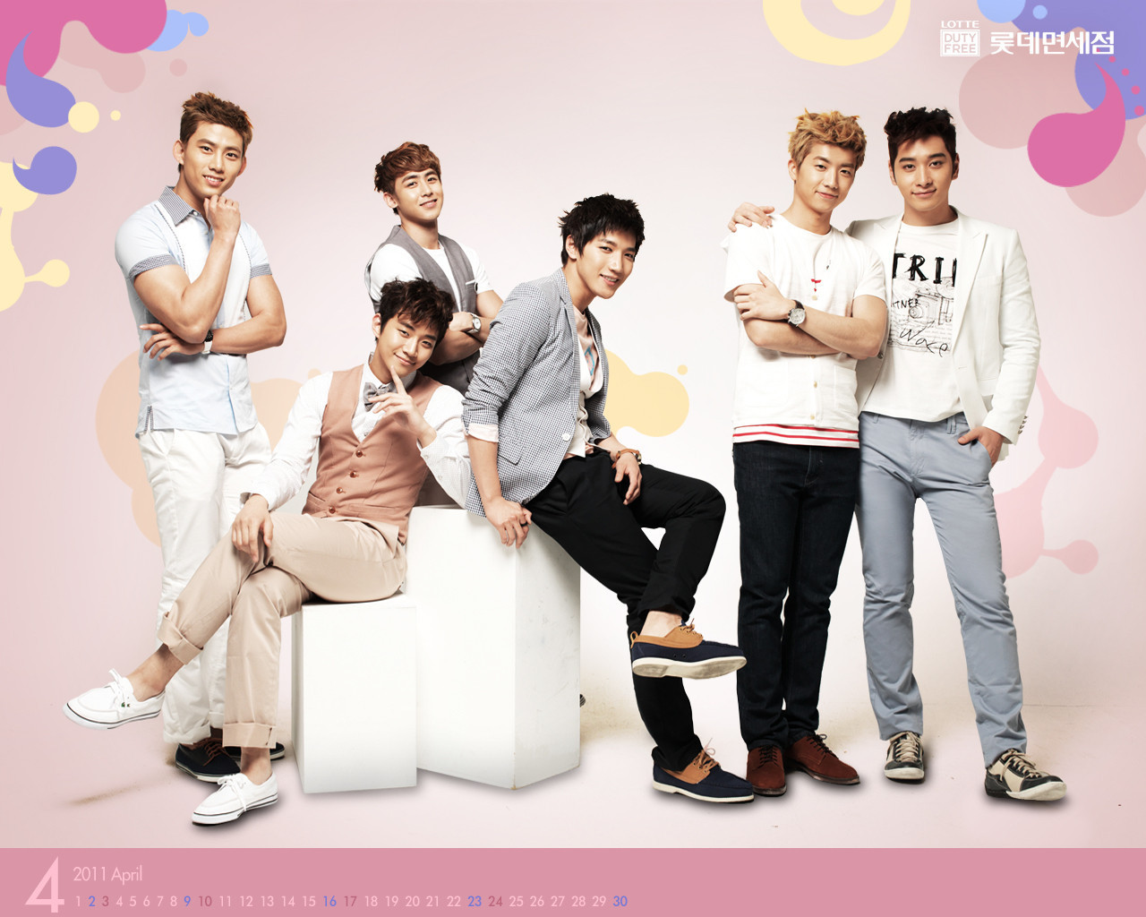 2pm images 2PM Lotte Dutte Free April HD wallpaper and background