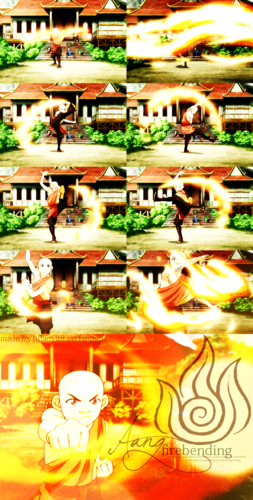Aang ~ Firebending