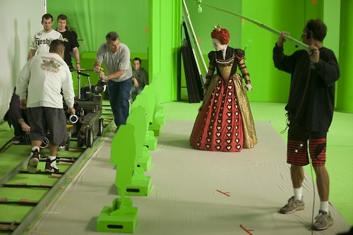 Alice in Wonderland behind the scenes