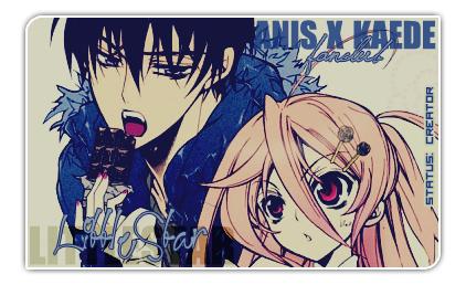 AnisxKaede Fanclub member card