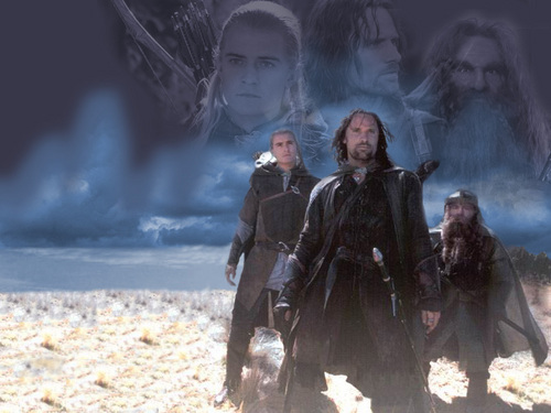 Aragorn, Legolas & Gimli