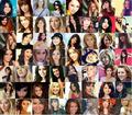 Ashley & Miley vs. Selena & Demi - ashley-and-miley-vs-selena-and-demi photo