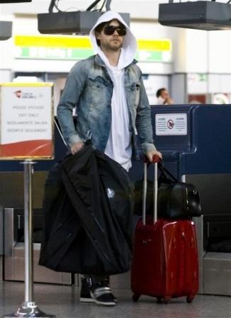 At Prague Airport - 24 June 2011