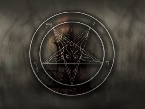Anton Szandor LaVey wallpaper titled Baphonet wallpaper