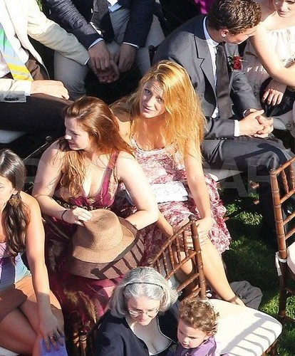 Blake at America Ferrera's Wedding – June 27