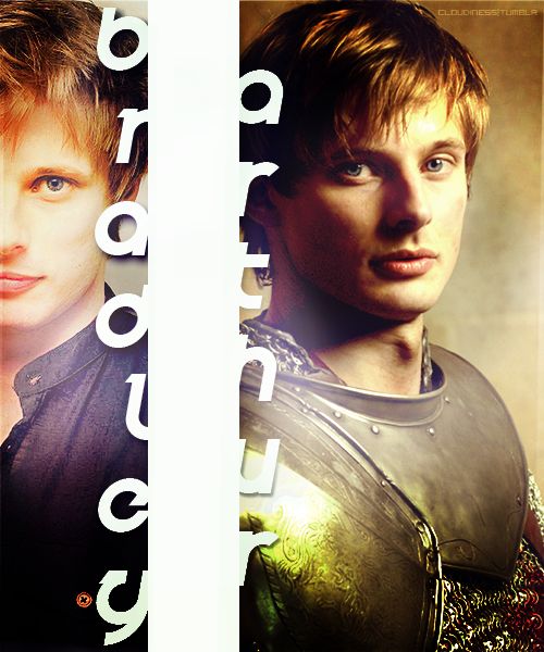 Arthur Pendragon Blonde Crush Bradley James