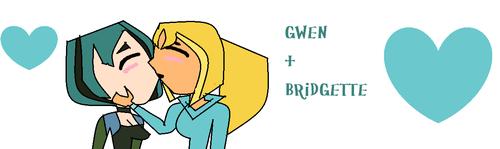 Bridgette + Gwen= upendo 4EVER