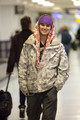 Cameron Bright at LAX