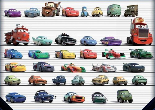 Cars 2- Characters