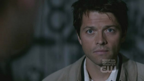 Castiel fond d'écran probably with a portrait titled Cas - Supernatural