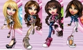 Cloe,Yasmin,Jade&Sasha!  - bratz-dolls photo