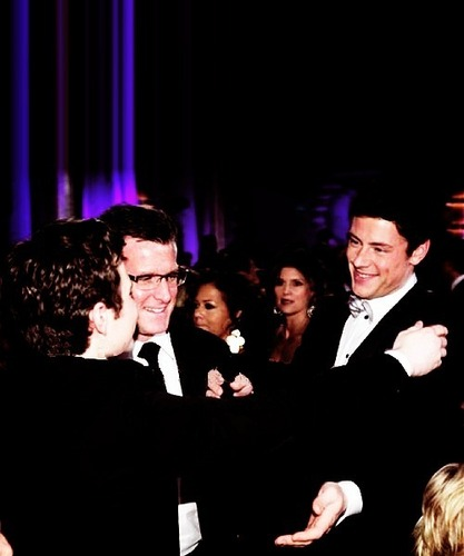 Cory & Chris *almost hug* AWwww!!<3
