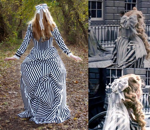 Cosplay: Katrina's striped dress