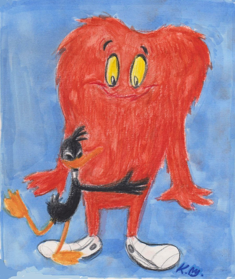 Daffy and Gossamer