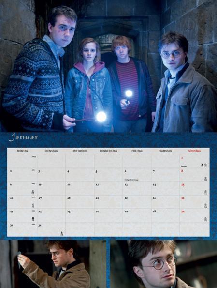 Deathly Hallows Calendar
