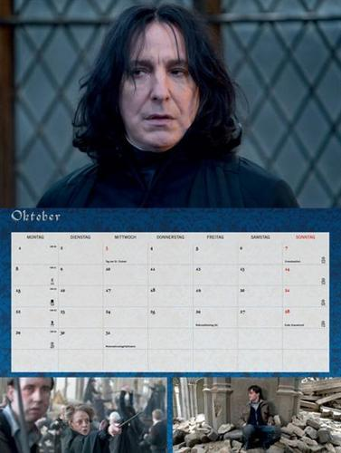 Deathly Hallows Calendar