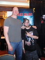 Derek Mears and fan at convention - friday-the-13th photo