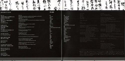 Different Sense Single Booklet - Lyrics Pages