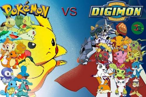 Digimon vs. Pokemon