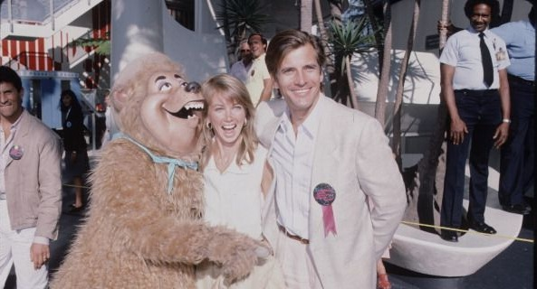 punhal, dirk Benedict with wife Toni Hudson